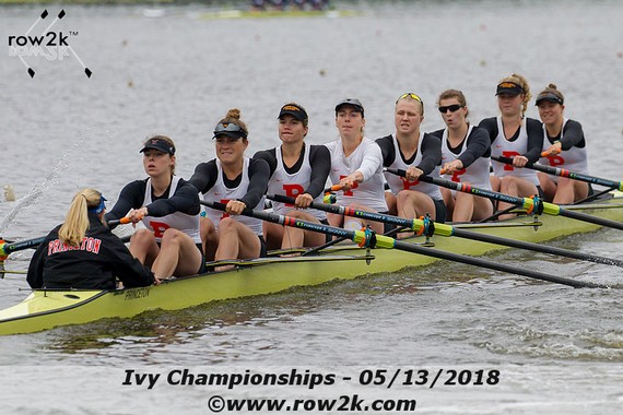 row2k features: Ivy Championships 2018: The Ups and Downs of Racing (and Elevators)
