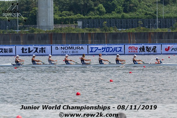 row2k features: Junior Rowing Worlds Finals Day: Medals Awarded, 2020 Course Ready