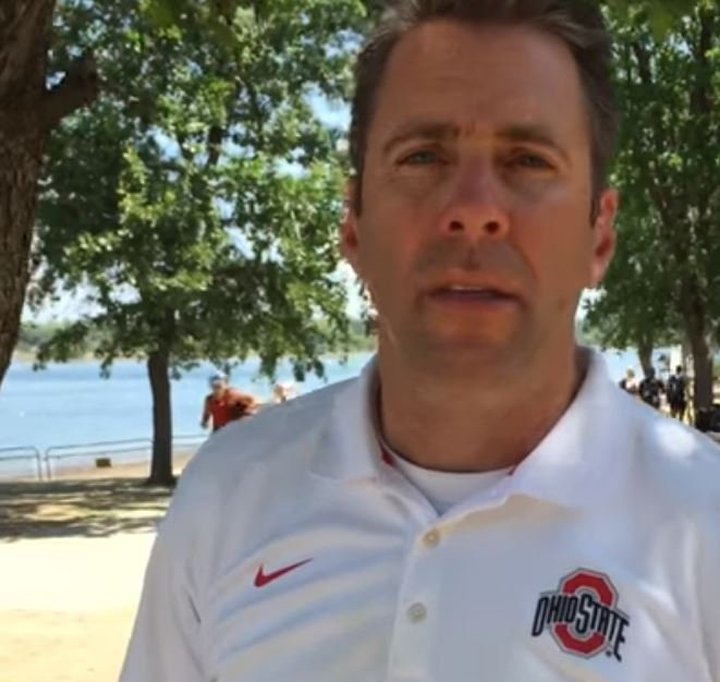 Ohio State Women's Rowing coach Andy Teitelbaum at the 2016 NCAA Rowing Championships