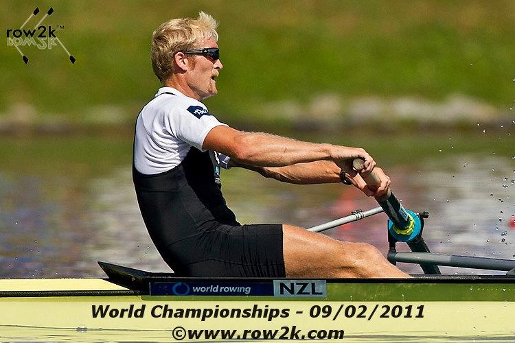 Eric Murray: Row2k Starting Five: New Zealand's Eric Murray