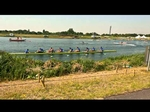 Olympic Games rowing practice