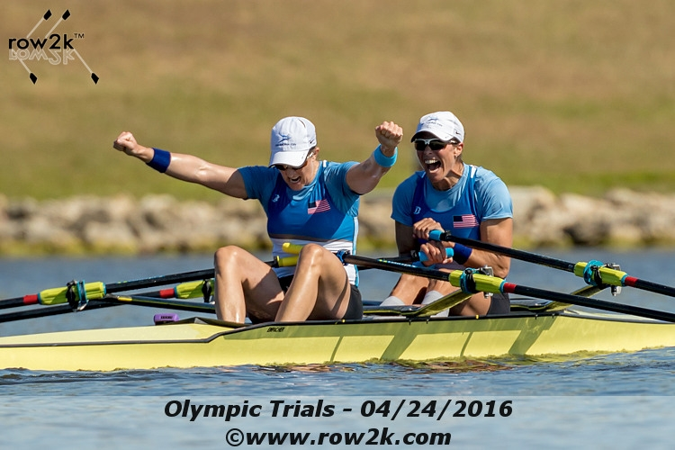 Olympic Rowing Trials: USA Singles and Doubles Take Step Toward Rio