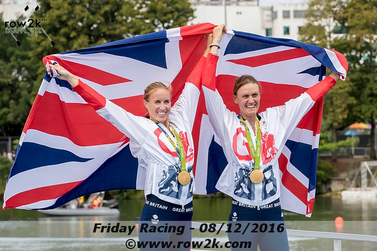 Rio Friday: GB Reign in the Rain