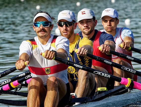 row2k features: USA M4x and Austrian M4- in Training