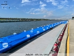 Water everywhere - on the course and on the docks - Click for full-size image!