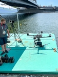 Drone as big as an outboard - Click for full-size image!