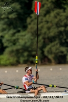 Are Strandli of the NOR LM2x takes the cake though, he stood up AND took his oar out..though not at the same time - Click for full-size image!