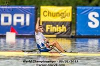 ..as was Ondrej Synek in the M1x, his second title. - Click for full-size image!