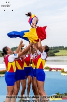 The Romanians do a different kind of cox toss apparently - Click for full-size image!