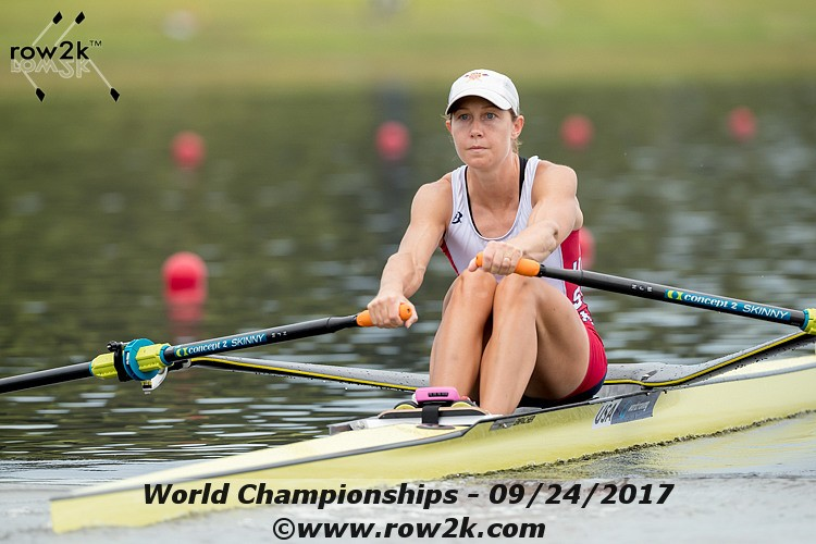 Punching Through the Heats at the 2017 World Rowing Championships
