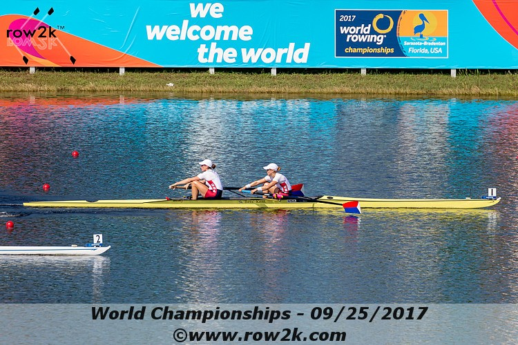 Hot Heats Continue on Day Two of the 2017 World Rowing Championships